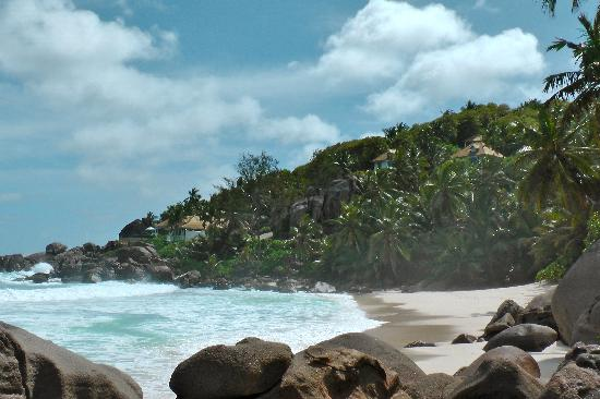 Takamaka, Seychellerna: traumhafter Strand