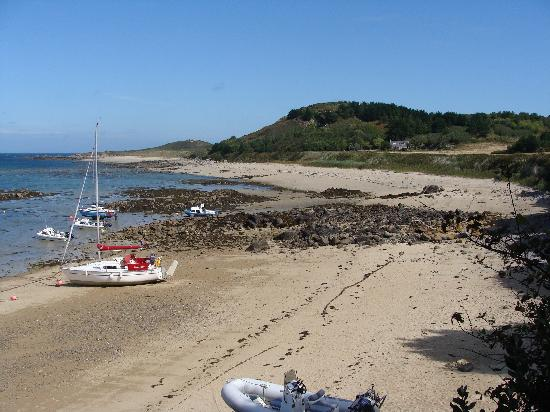 St Georges: The island Herm , well worth a visit