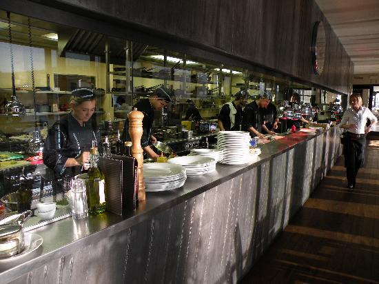 Marina Ristorante: de keuken