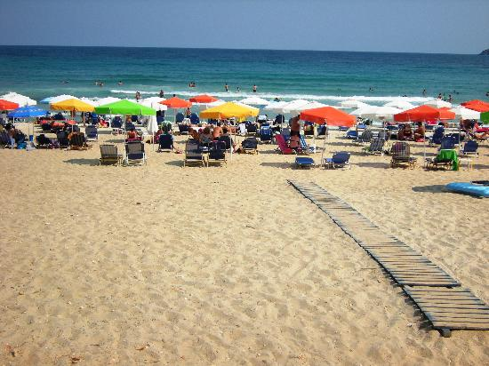 Golden Beach, Grecja: Beach