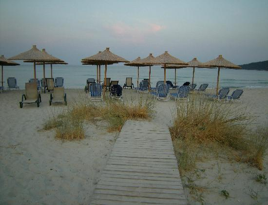Golden Beach, Greece: Eve