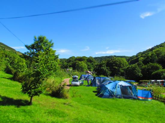 Hele Valley Holiday Park: Peaceful camping