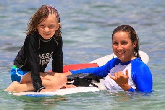 North Shore Surf Girls - Surf School : My daughter with Vie