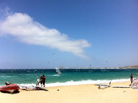Mikri Vigla Hotel Beach