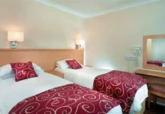 Corton, UK: Standard plus boardwalk twin room