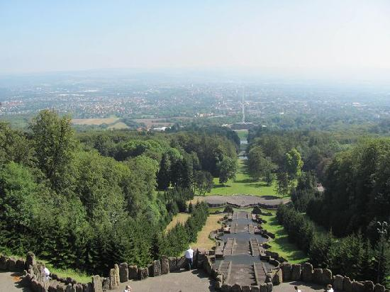 Herkules-Statue: Blick auf Kassel