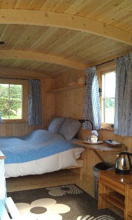 Heath Hall Farm: Inside the Shephard's Hut