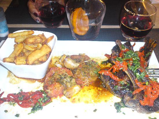 Restaurant  La Caravelle : cotelettes d'agneaux
