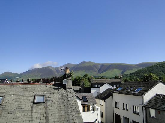 ‪‪The Cartwheel Guest House‬: View of Skiddaw (single en suite, second floor)‬