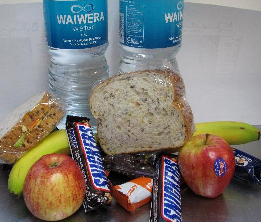 Adventure Lodge & Motel : Packed Lunch