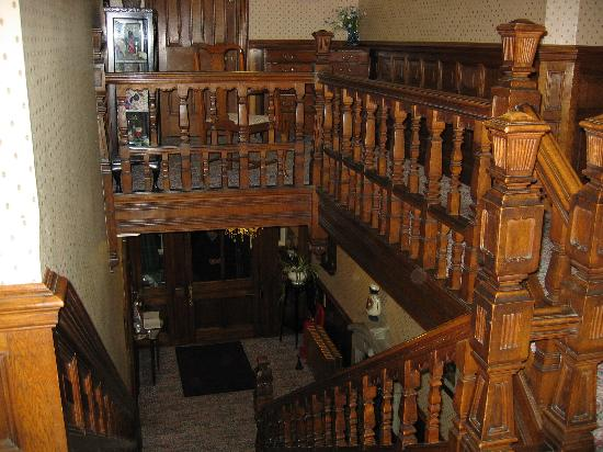 Helton, UK: staircase