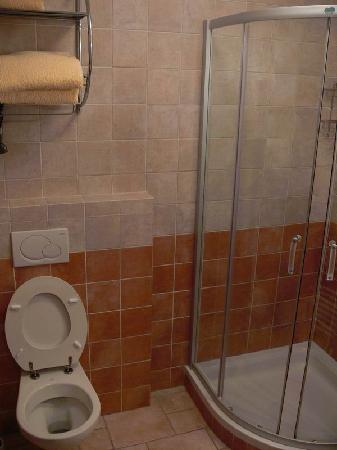 Apartments & Rooms Tempfer: toilette & shower