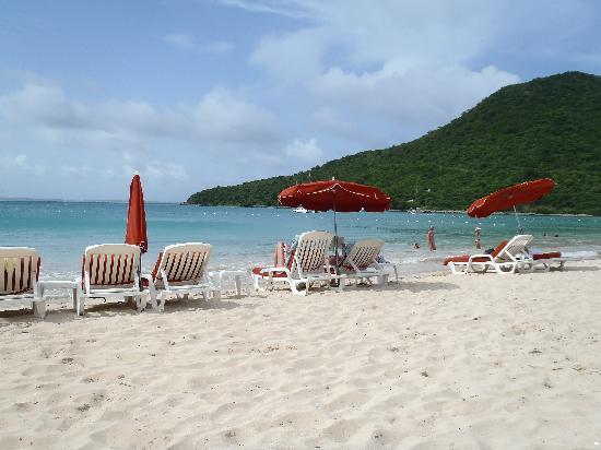 Le Domaine Beach Resort & Spa: Plage de l'hôtel