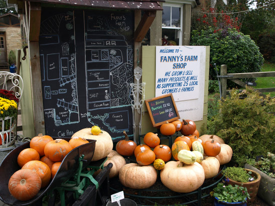 Merstham, UK: Pumpkins