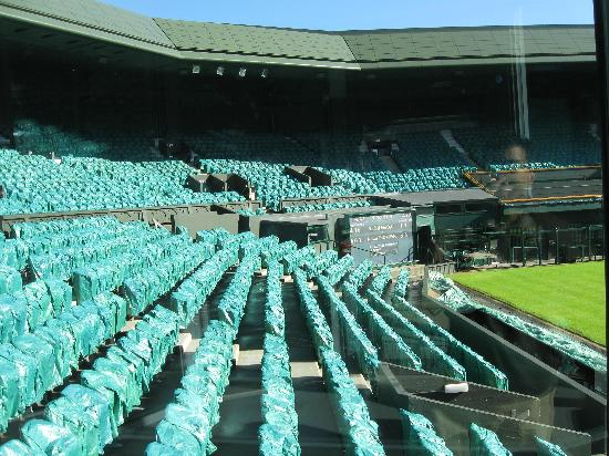 Wimbledon Lawn Tennis Museum: 2011 Men's Results