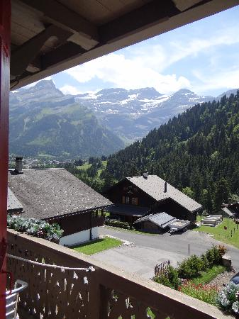 Hotel du Pillon: Excellent view