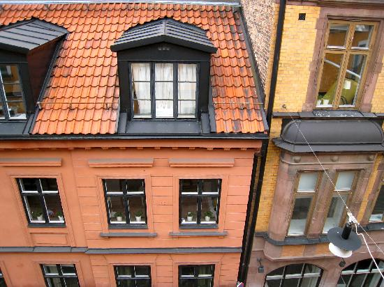Master Johan Hotel: View from the bedroom window