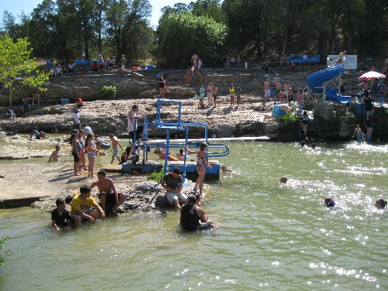 Blue Hole Diving Board Picture Of Turner Falls Park
