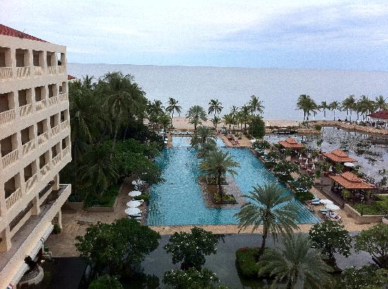 Dusit Thani Hua Hin: View from our balcony