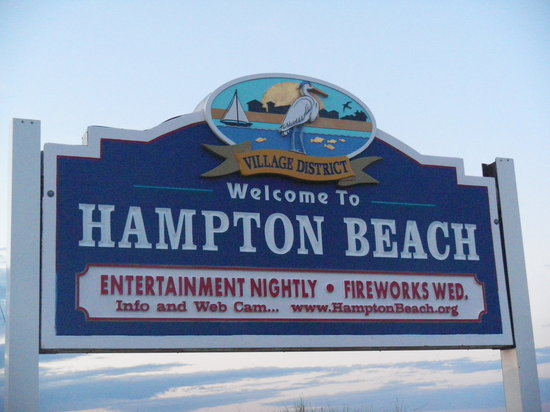 Hampton Falls, NH: Hampton Beach, New Hampshire