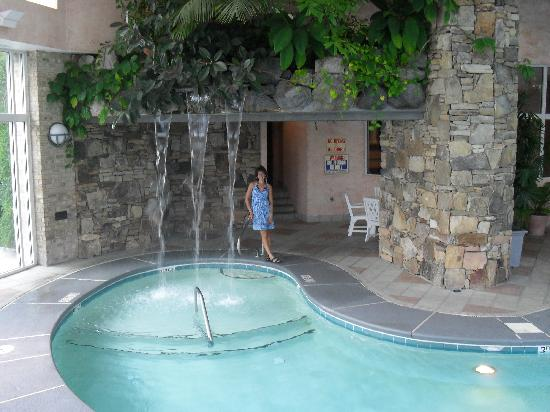 Grandover Resort and Conference Center: waterfall at the pool