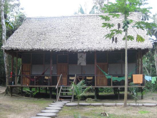 San Miguel del Bala Ecolodge: Sleeping Building at Madidi Lodge