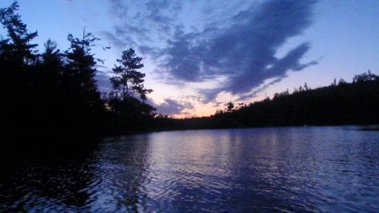 Boundary Waters Canoe Area Wilderness: Dawn paddle....