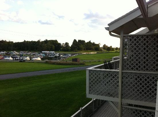 Thousand Islands Country Club: view from room