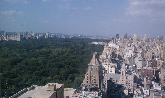 Part of the view from our 35th floor room