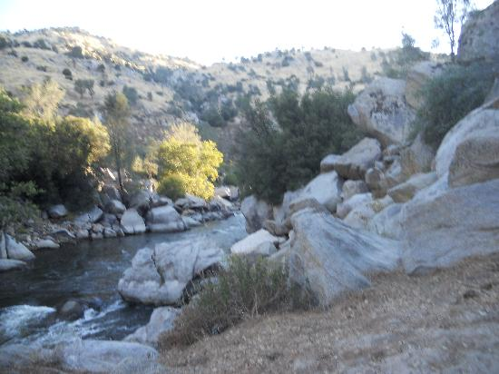 Kern River Outfitters: another view from the campsite