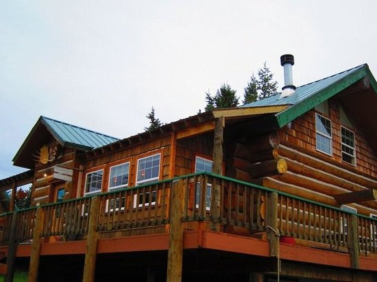 Homer Floatplane Lodge: Main Lodge Area