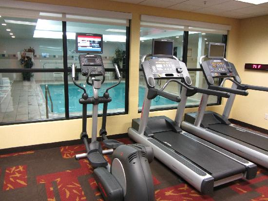 Courtyard Medford Airport : Exercise Room