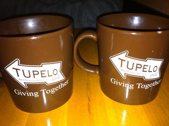 Tupelo Grille: Coffee and Bread Pudding