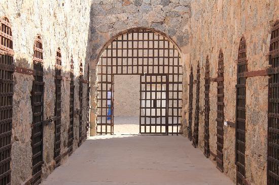 Yuma, AZ : one of the cell blocks