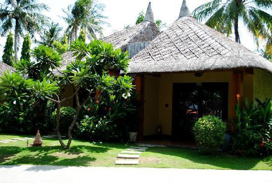 Terracotta Resort: garden view bungalow