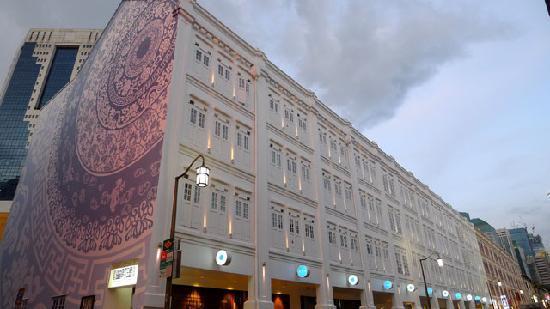 The Porcelain Hotel: Hotel Facade
