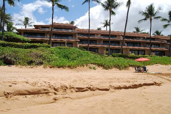 Makena Surf: View from the beach