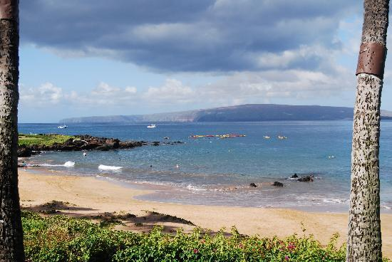 Makena Surf: View from the lanai