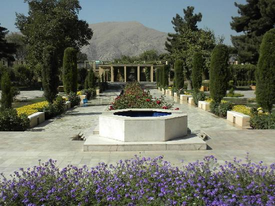 Kabul Serena Hotel: The lovely gardens of the Serena Hotel