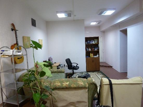 I & I Hostel : Living room
