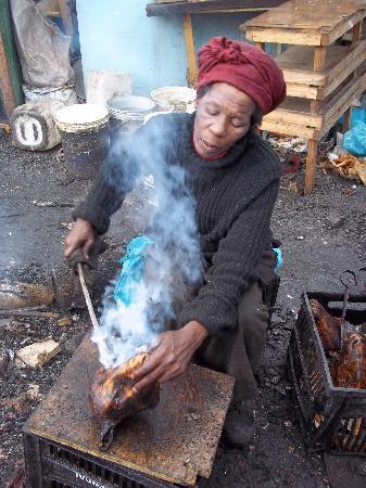 Langa Township: Ungewohnte Gerüche gehören dazu...