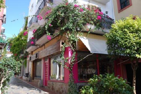La Morada Mas Hermosa Hotel: Il trionfo delle bouganville