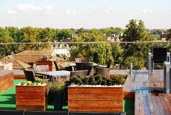 The Varsity Hotel & Spa: Rooftop Garden
