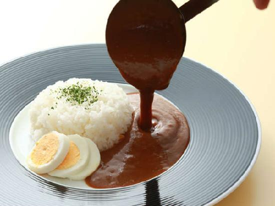 Hotel Quest Shimizu : morning curry (Breakfast Buffet style)