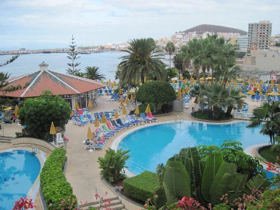 Spring Arona Gran Hotel: View from balcony