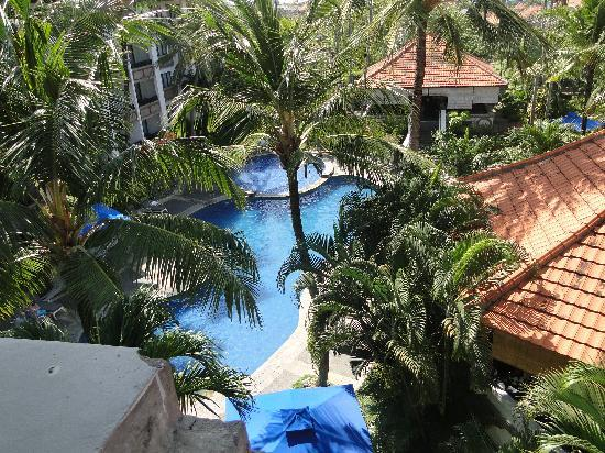 Sanur Paradise Plaza Suites: the view from our room