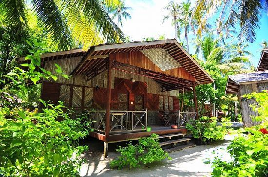 Sipadan Mabul Resort: 今回の宿泊棟