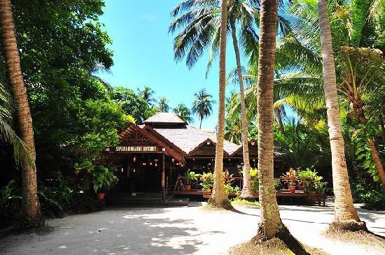 Sipadan Mabul Resort: 食堂棟