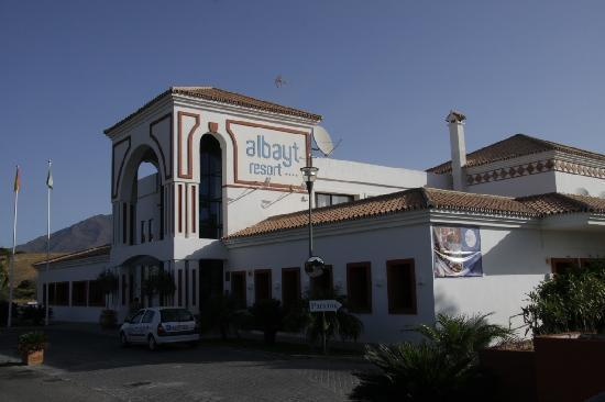 Albayt Resort : Restaurant-Terasse