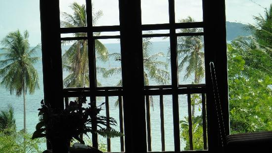 A's Beach Place: from the window